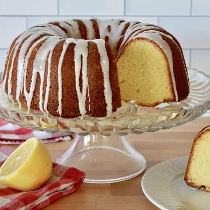 Olive Oil Lemon Bundt Cake