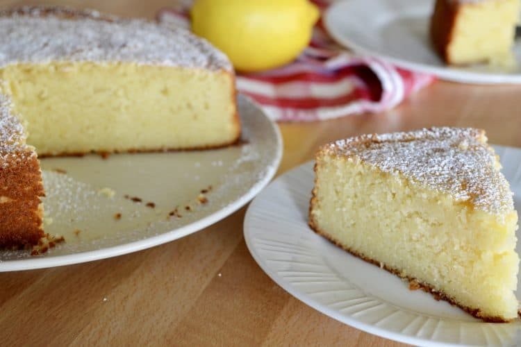 Italian Lemon Ricotta Cake | Light & Moist Recipe