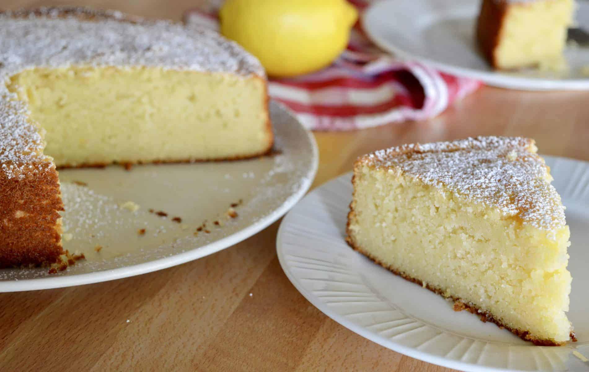 Italian Lemon ricotta cake recipe