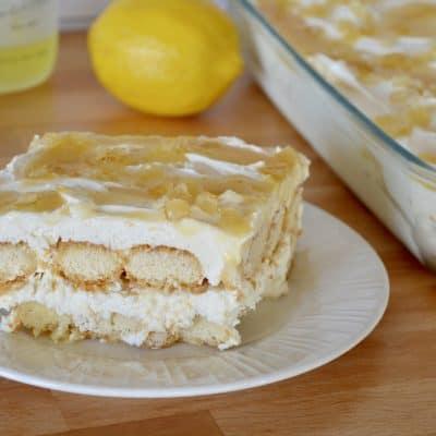 Limoncello Tiramisu | Italian Lemon Dessert