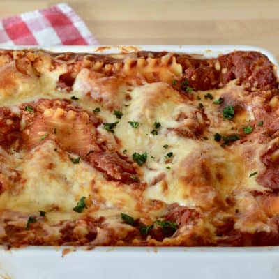 Italian Turkey Lasagna | Easy No Boil Recipe