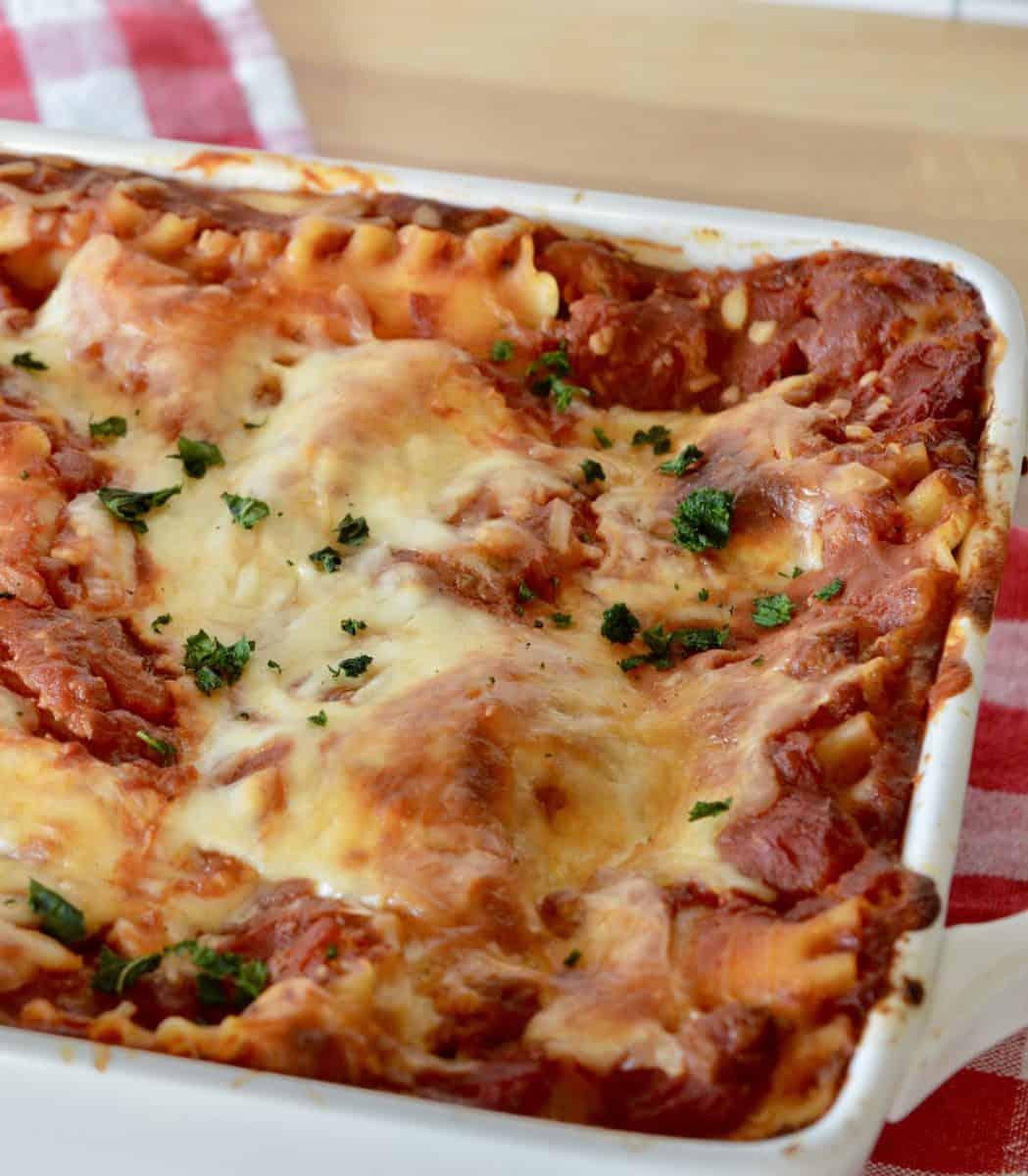 Italian Turkey Lasagna recipe.