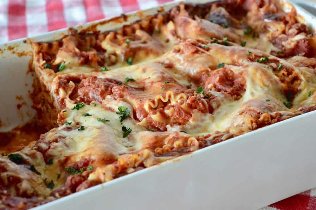 Italian Turkey Lasagna