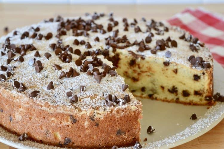 Chocolate Chip Ricotta Cake | Italian Dessert
