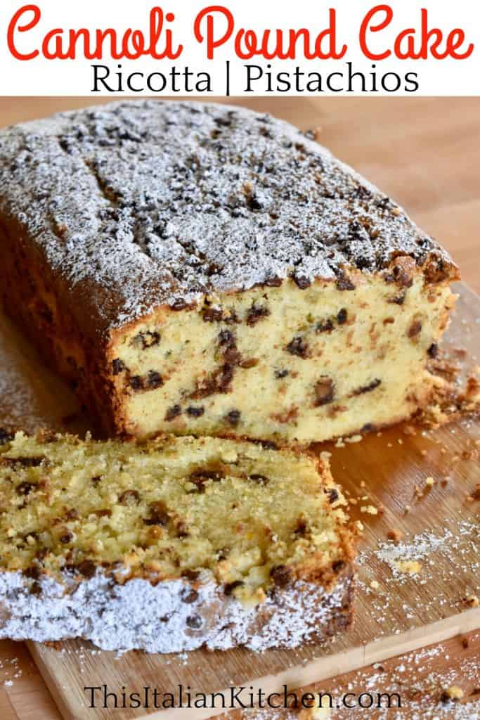 Cannoli Pound Cake Pinterest.