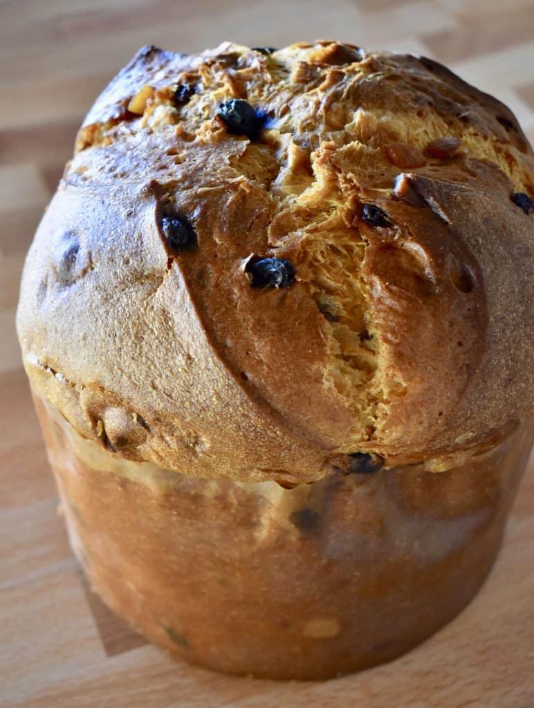 Panettone Bread.