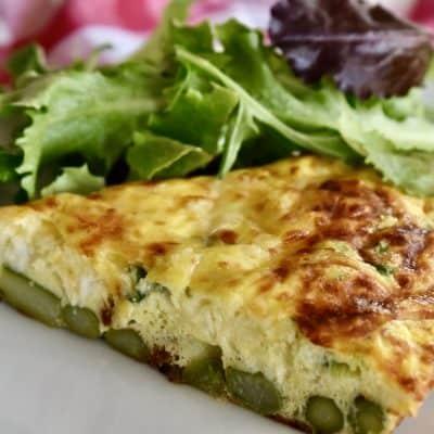 Asparagus Ricotta Frittata | Italian Egg Dish