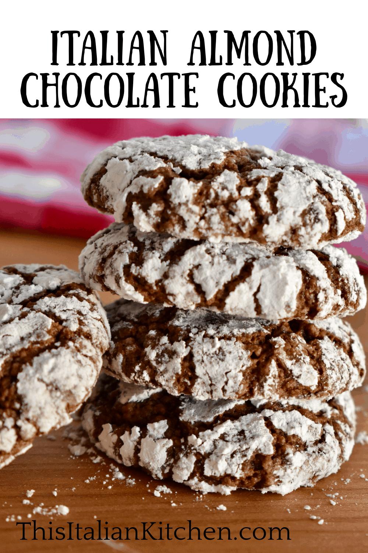 Italian Almond Chocolate Cookies